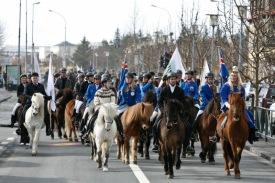 Skrúðreið á Hestadögum 2011.